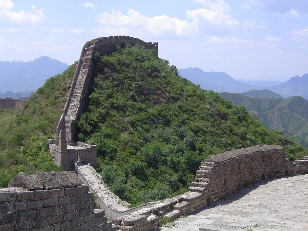Auf der Großen Mauer