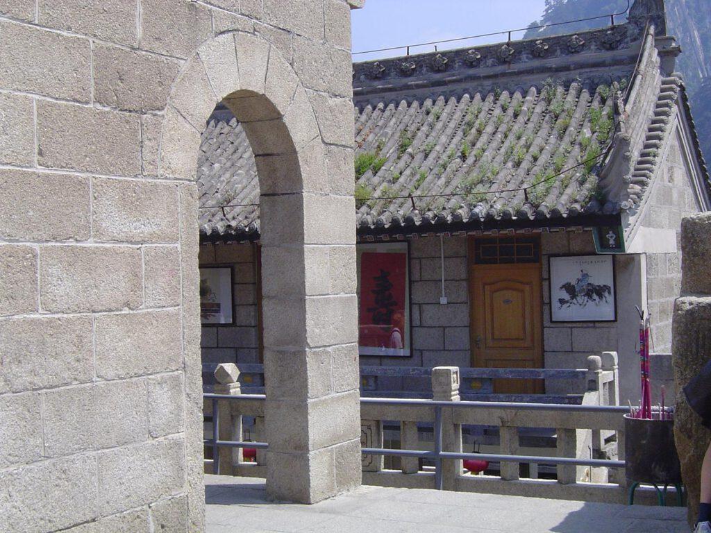 Auf dem Hua Shan