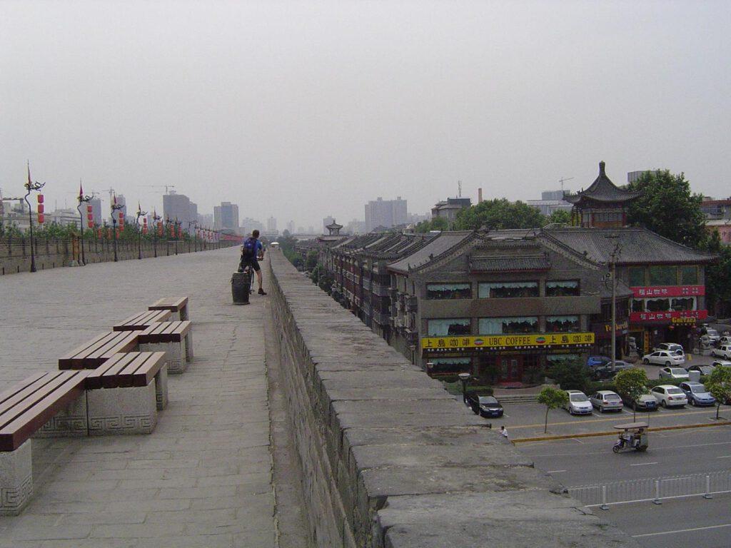 Stadtmauer von Xi´an