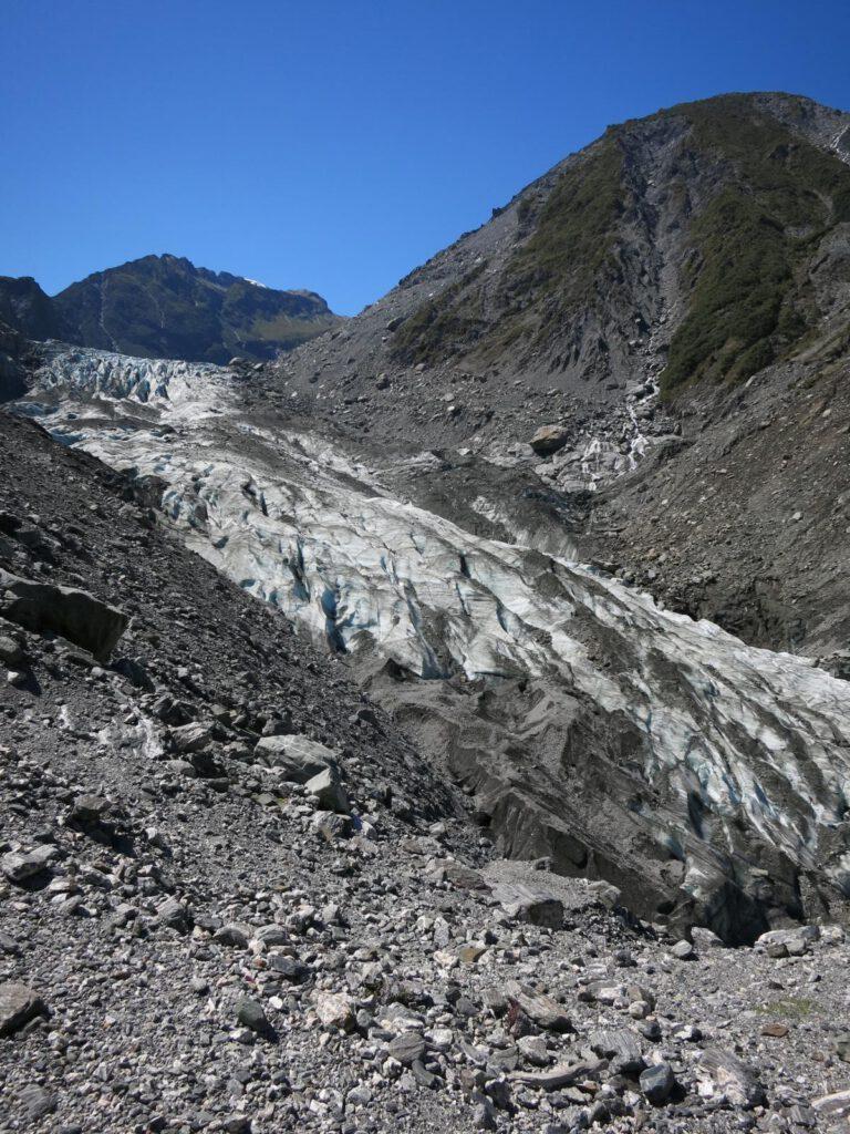 Die Gletscherzung Fox Glacier