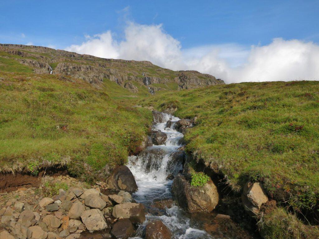 Tal der tausend Wasserfälle