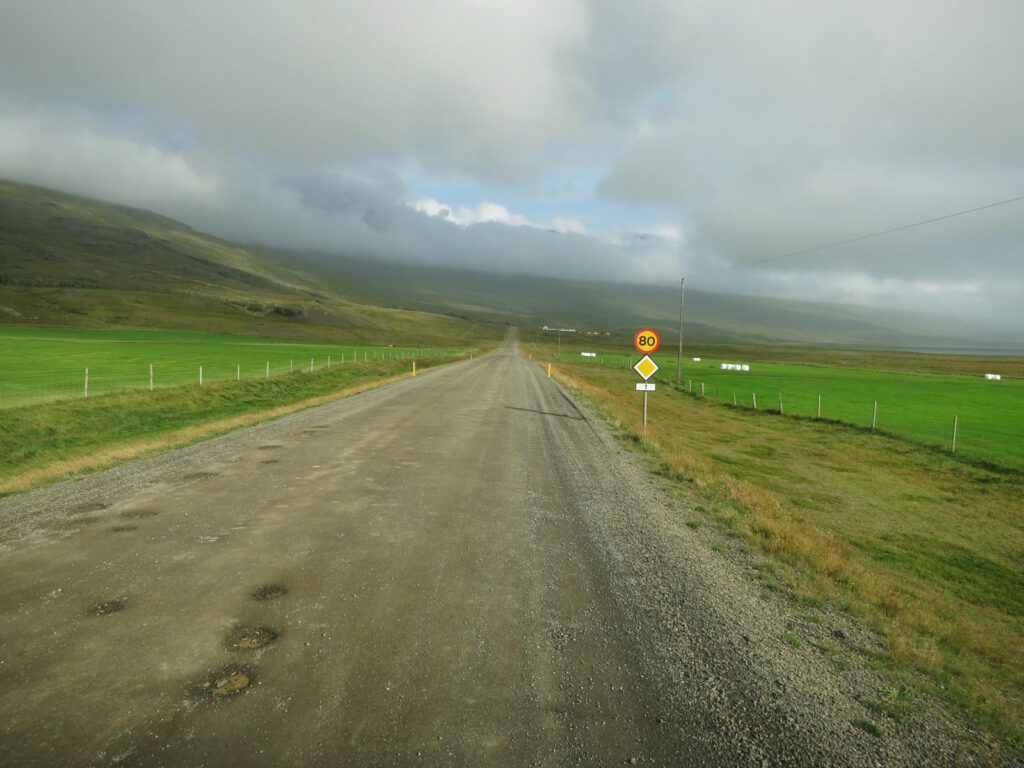 Gravel-Road ... unbefestigte Straße .... grrrrr ....