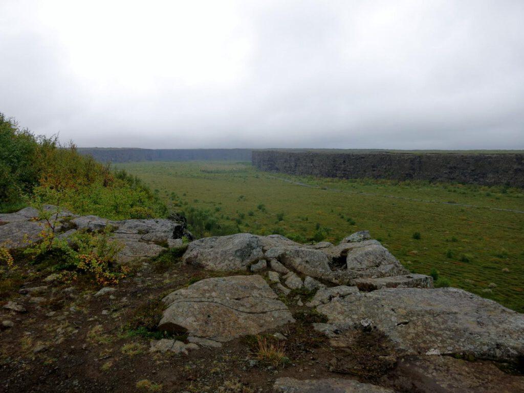 Auf dem Weg zum Aussichtspunkt Klappier