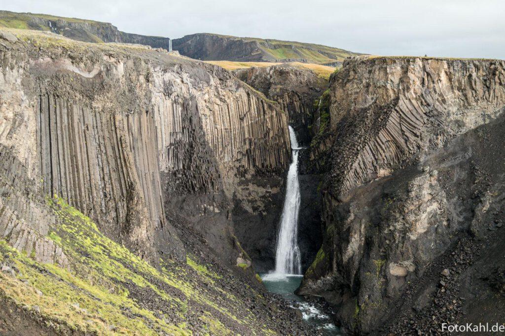 Auf dem Weg zum Wasserfall Hengifoss