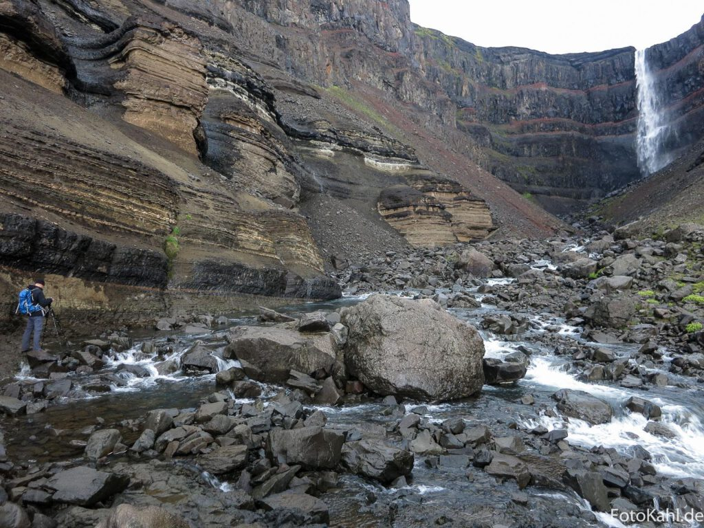Wasserfall Hengifoss
