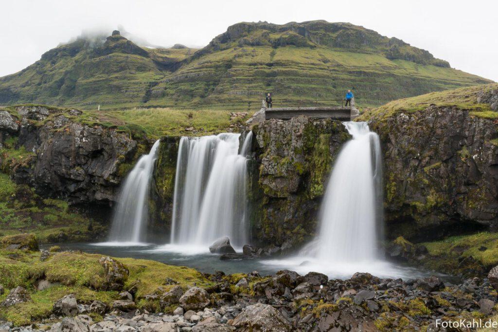 Wasserfall Kirkjufellfoss