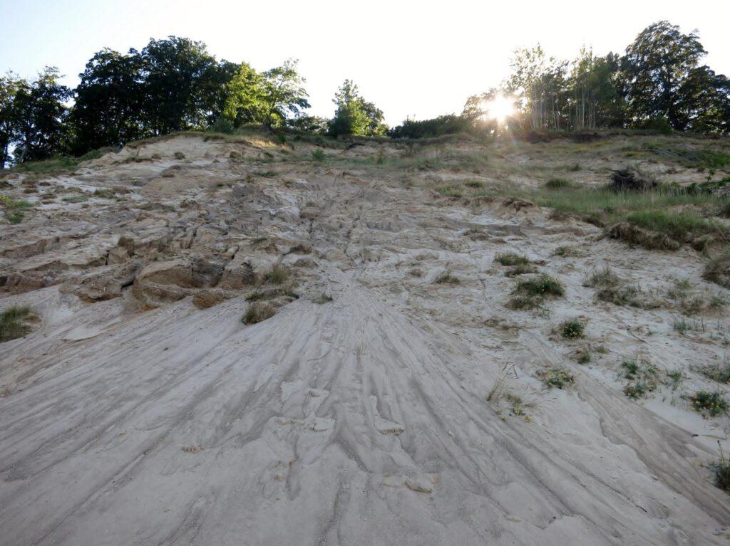 sandige Steilküste bei Sellin