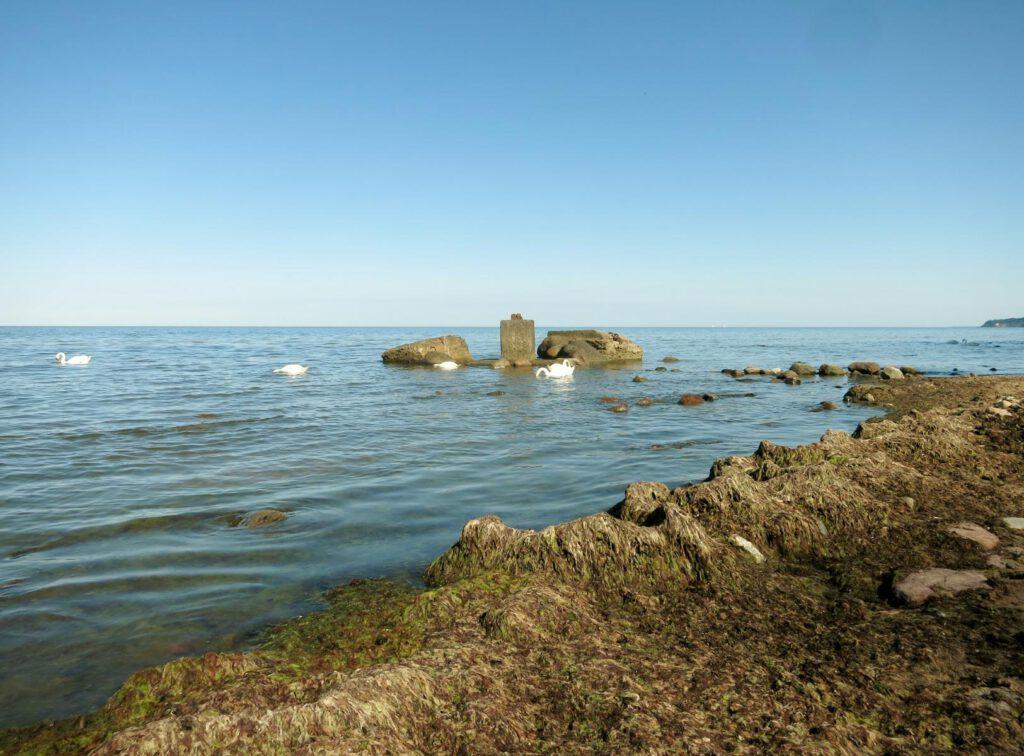 Am Strand bei Sellin