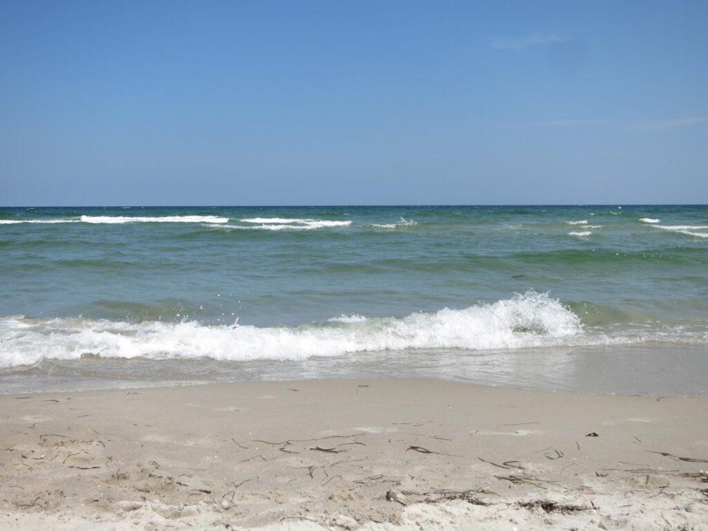 Wellen in Binz