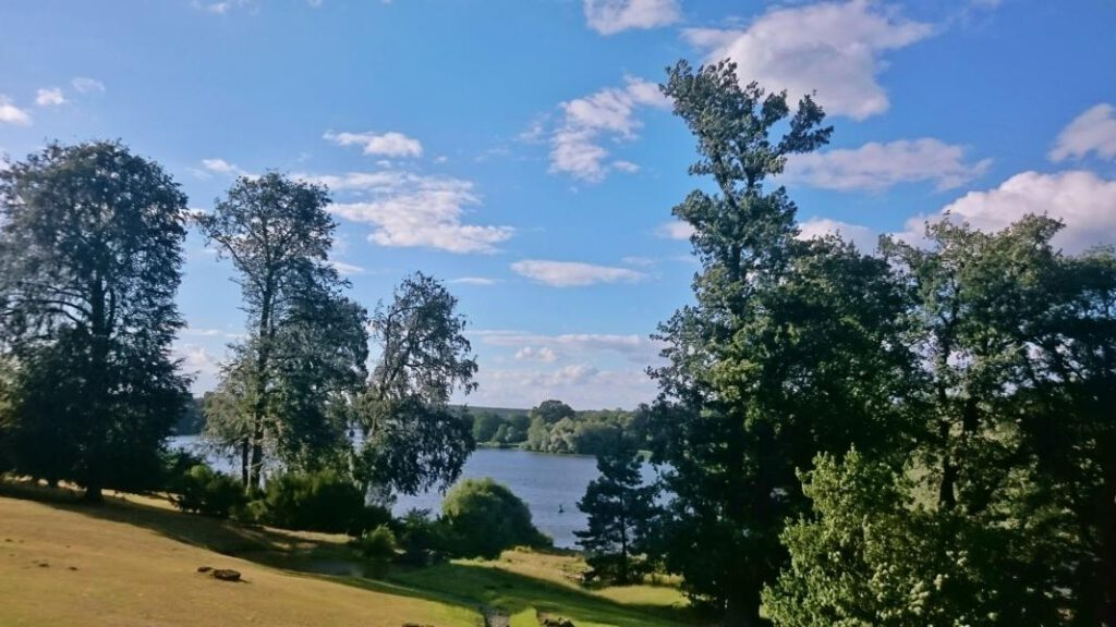 Blick Richtung Havel