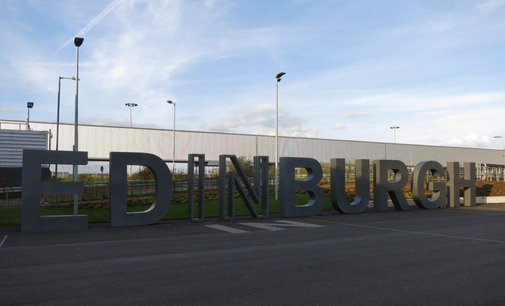 Flughafen Edingburgh