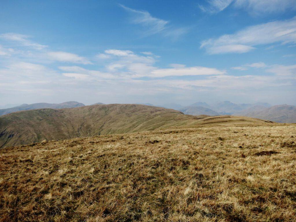 Blick Richtung Highlands