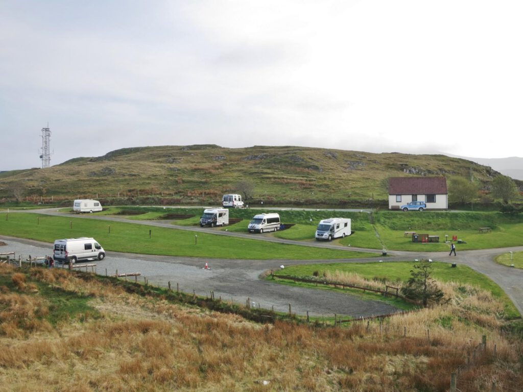 Campingplatz Staffin