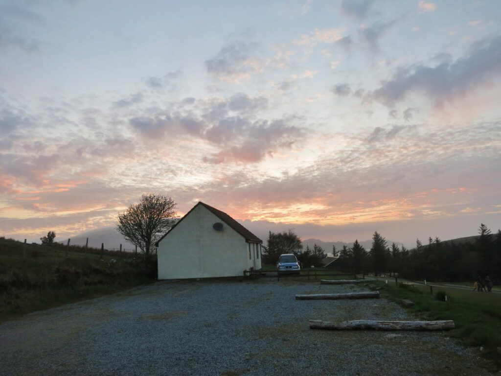 Sonnenuntergang Staffin