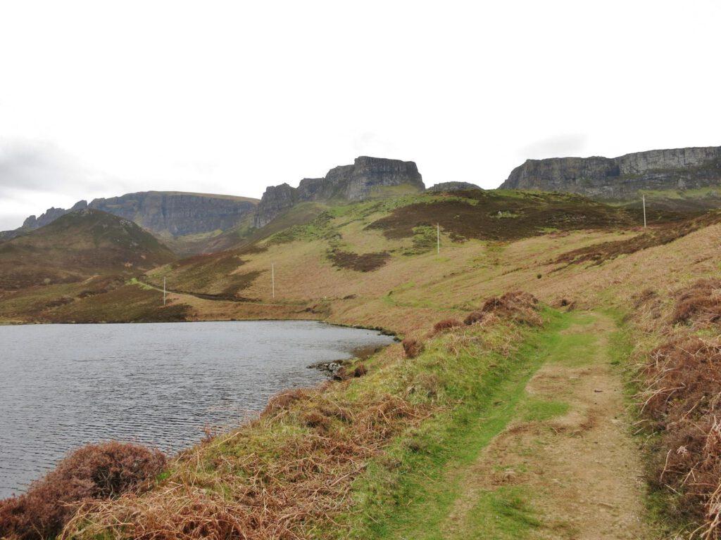 Wandergebiet Quiraing / Skye Schottland