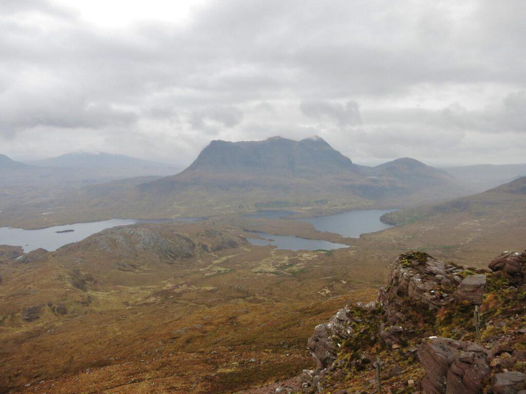 Ausblick Stac Pollaidh / Highlands