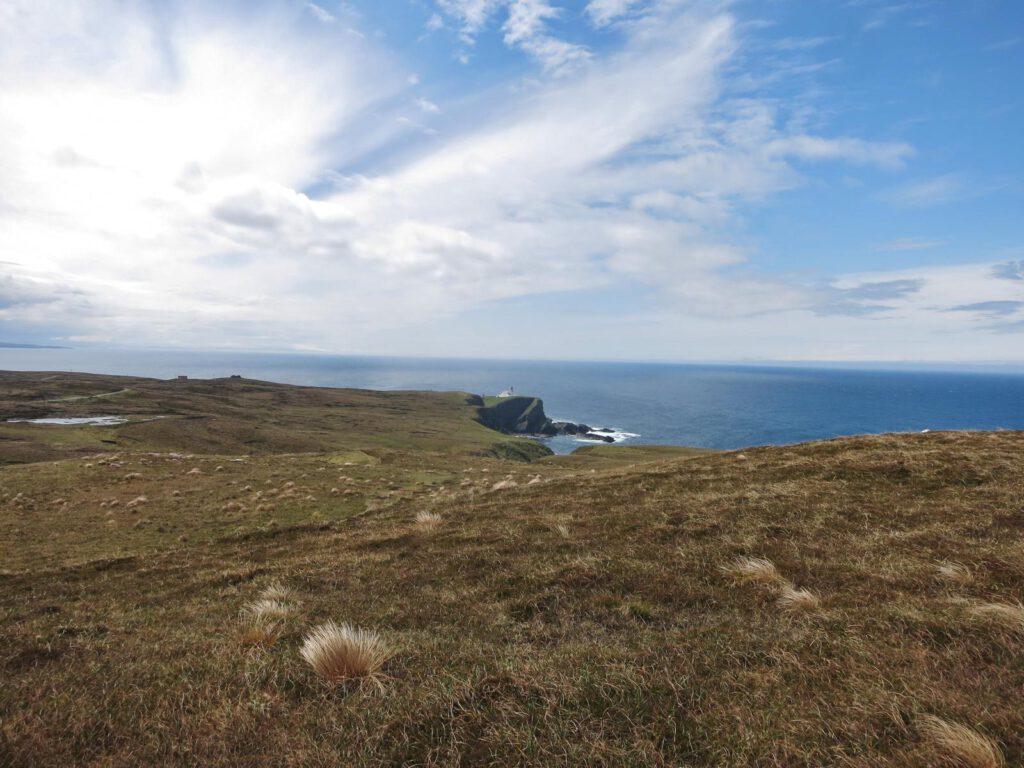Wanderung zurück zum Lighthouse of Stoer