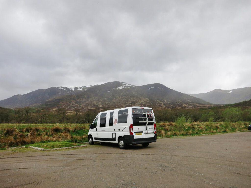Fotostopp Cairngorm Nationalpark