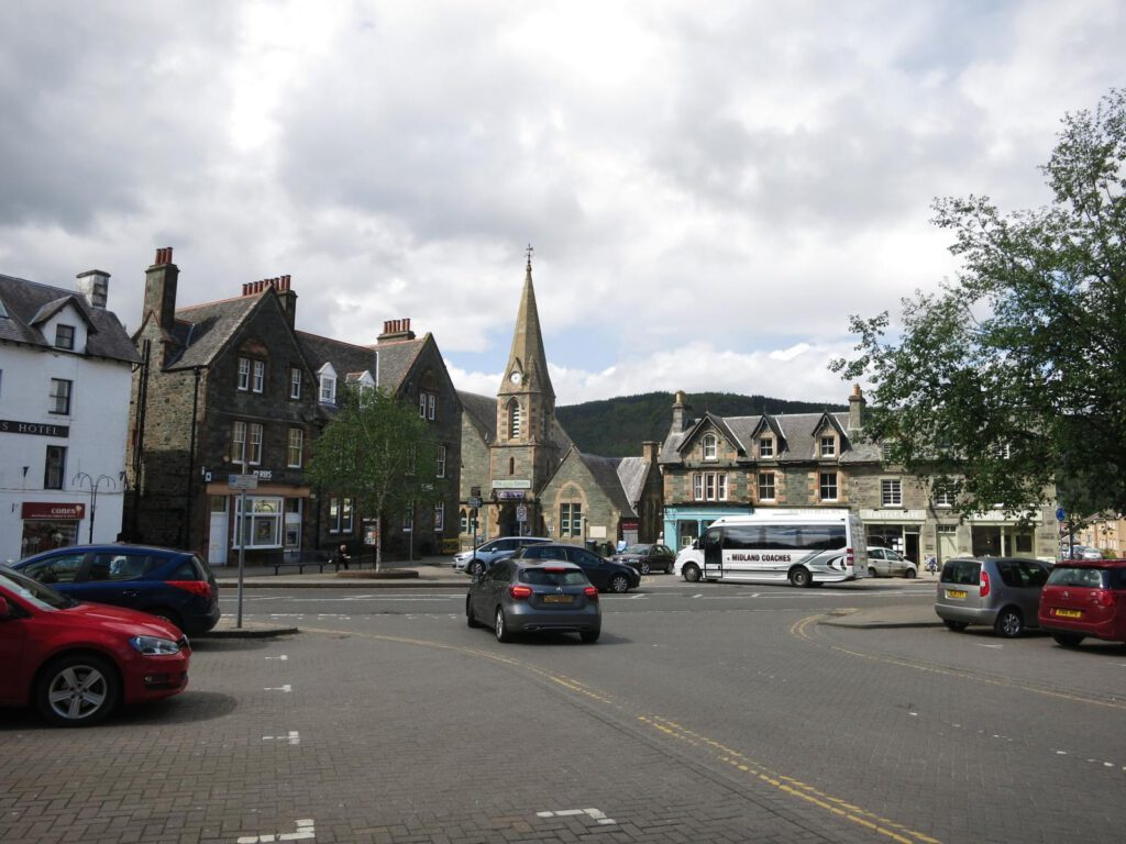 Marktplatz Aberfeldy