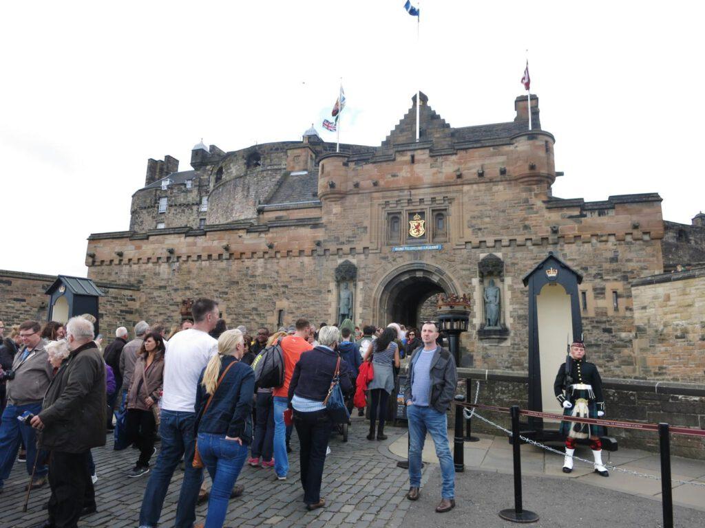 Eingang zum Castle