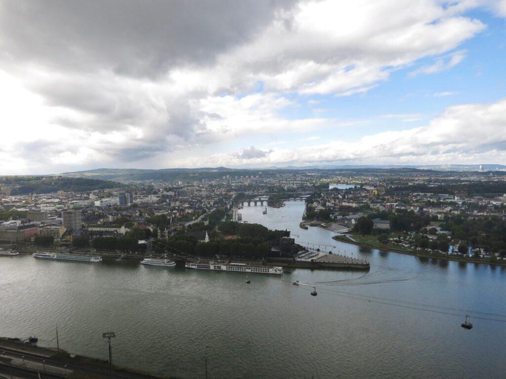 Blick Richtung Koblenz