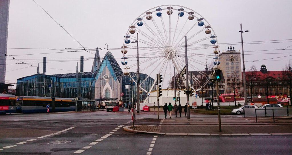 Leipzier Weihnachtsmarkt / Augustusplatz