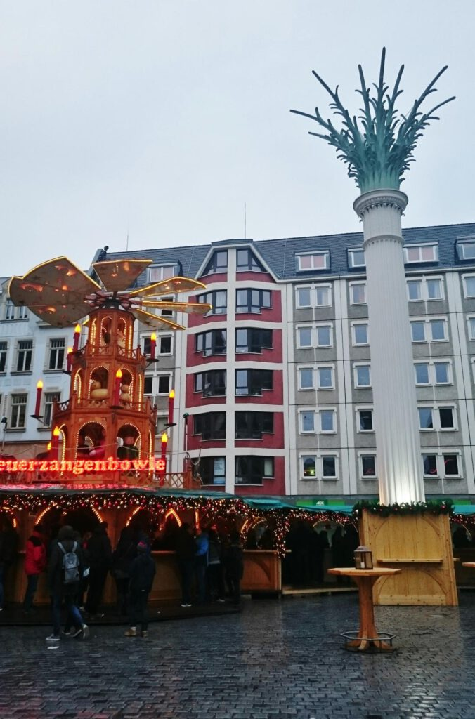 Weihnachtsmarkt an der Nikolaikirche