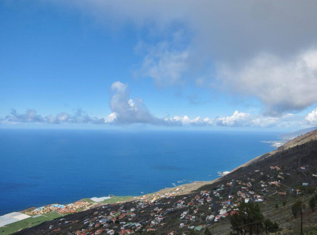 Blick auf die Atlantikküste