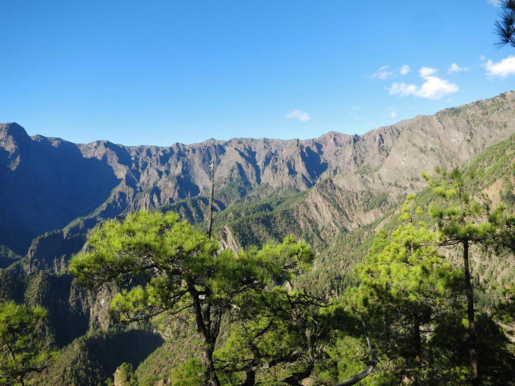 Blick von Las Chozas