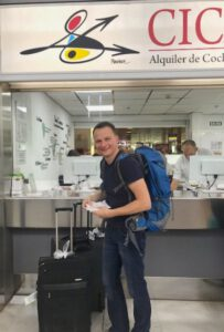 Mietwagenschalter von Cicar am Flughafen Teneriffa