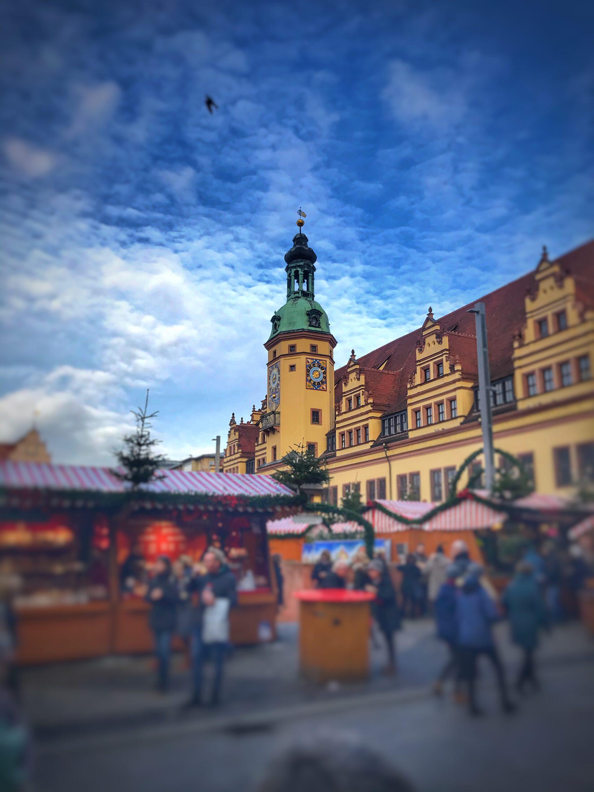 Weihnachtsmarkt Leipzig Altes Rathaus Leipzig
